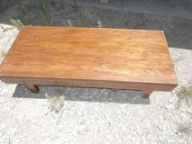 Solid wood coffee table in Alamogordo, New Mexico
