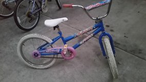Girls' bicycle in Kingwood, Texas