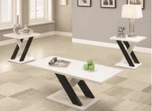 Contemporary 3 piece table in Eielson AFB, Alaska