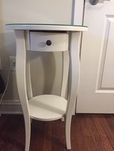 """Ikea Hemnes Round Bedside Table 17"""" in Cleveland, Ohio"""