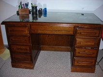 OAK DESK WITH CHAIR in Naperville, Illinois