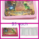 TINKERBELL ~ PIRATE FAIRY WALLETS in Fort Benning, Georgia
