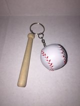 Baseball key chain in Westmont, Illinois