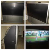 """60"""" 60 inch Sony projection tv television flat screen in Travis AFB, California"""