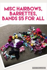 Lot of hair accessories in Elgin, Illinois