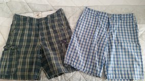 Hollister & Old Navy Plaid Shorts in Ramstein, Germany