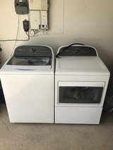 whirlpool cabrio washer and electric dryer in Temecula, California