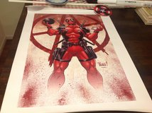 DeadPool Canvas Art Print 16 x 24 Picture Awesome Kids Room Pic or Even Mancave New Just Arrived in Okinawa, Japan