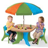 Step2 Deluxe Play & Shade Kids Patio Set in Bolingbrook, Illinois