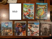 Wii U and PS3 Games in Okinawa, Japan