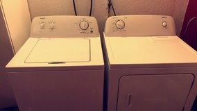 Admiral Washer & electric Dryer! Excellent condition in Fort Irwin, California