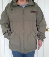 GEAR FOR SPORTS LIGHTWEIGHT WATER-RESISTANT JACKET w/HOOD - UNISEX SIZE LARGE in Algonquin, Illinois