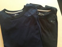 NIke Dri Fit Navy and Black light stripe Men's small, Boys XL in Westmont, Illinois