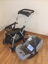 Chicco KeyFit Caddy Infant Car Seat and Stroller in Stuttgart, GE