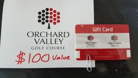Orchard Valley Golf Course Gift Card in Sandwich, Illinois