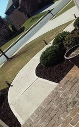 I cut grass in Clarksville, Tennessee