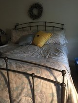 Full bed and mattress in Naperville, Illinois
