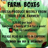 Weekly Farm Boxes with 5 Pickup Locations in Dover, Tennessee