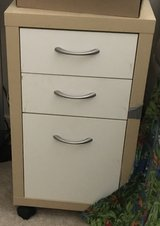 Small File Cabinet on Wheels in Beaufort, South Carolina