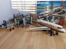 Playmobil Airport + Airplane Set in Stuttgart, GE