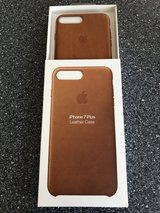 Original Apple IPhone 7 Plus Leather Case in Ramstein, Germany