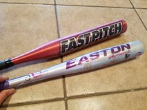 Little girls softball bats in Vista, California