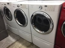 Frontload Washer and Dryer Units in Oceanside, California