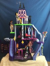Monster High Freaky Fusion Catacombs Playset Dollhouse in Oceanside, California
