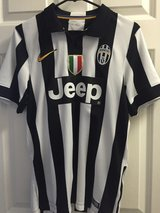 Juventus Carlos Tevez #10 jersey, men's small, boy's XL in Lockport, Illinois