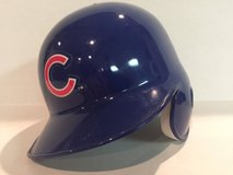 Cub batting hat in Naperville, Illinois