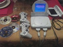 PlayStation One system + games in Beaufort, South Carolina