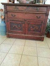 Antique Buffet in Coldspring, Texas
