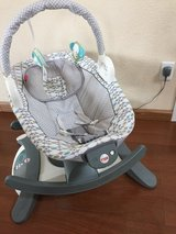 Baby swing with plugin in Fort Carson, Colorado