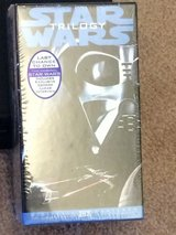 Star Wars Trilogy VHS tapes- Never Opened in Naperville, Illinois