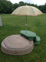 Step 2 Sandbox Picnic Table with Umbrella in Naperville, Illinois