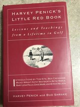 """Little Red Book"" golf book in Byron, Georgia"