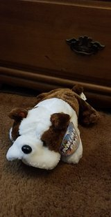 Bulldog plush toy in Houston, Texas
