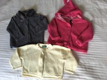 GAP SIZE 12-24 mos. Girls Sweaters Lot of 3 in Oswego, Illinois
