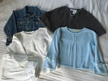 EUC SIZE 3T Girls Lot of 4 NAUTICA Jacket Sweater in Naperville, Illinois