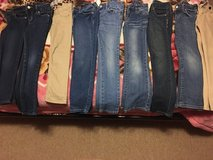 Lot jeans girl (9) in Naperville, Illinois