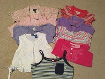 EUC SIZE 3T Lot of 9 Short Sleeve Shirts+1 Dress in Oswego, Illinois