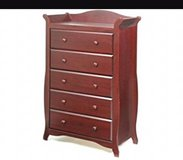 storkcraft aspen  cherry dresser in Naperville, Illinois