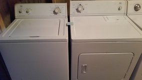 Whirlpool heavy duty washer and dryer set in Fort Rucker, Alabama