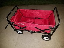 New / Red Adventure Folding Wagon in Fort Campbell, Kentucky