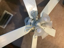 "52"" White Hunter Ceiling Fan in Naperville, Illinois"