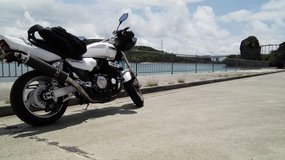 Yamaha  xjr1200 in Okinawa, Japan
