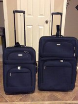 2 PIECE NAVY LUGGAGE SET BY PROTOCOL in Houston, Texas