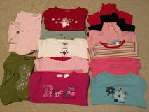 SIZE 3T Girls Lot of 13 Long Sleeve Shirts in Oswego, Illinois