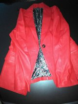 Jacket Leather -Color-Red  size-Small  (Female ) in Dickson, Tennessee