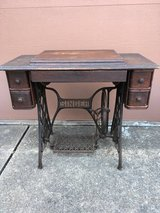 Singer Sewing Machine Cabinet from late 1800's in Houston, Texas